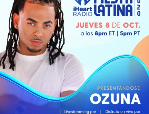 Ozuna Talks #iHeartFiesta Virtual Performance To Enrique Santos