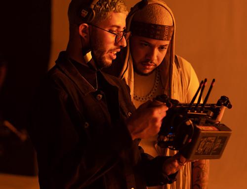 "Exclusive: Behind the Scenes Photos from Rafa Pabön's Music Video ""COMO TU"""